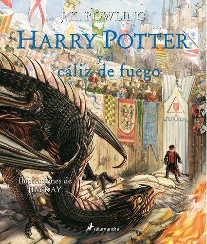 Harry Potter Y El Cáliz De Fuego Ilustrado Y Tapa Dura