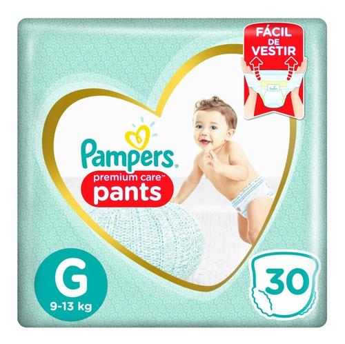 Fralda Pampers Pants Premium Care G - 30 Unidades