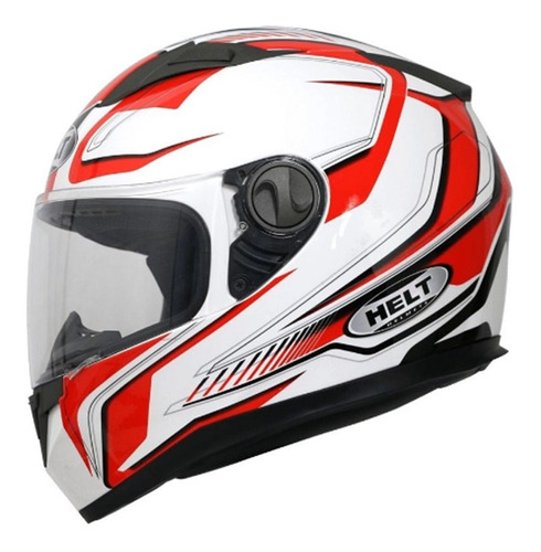 Capacete Moto Integral Helt New Race