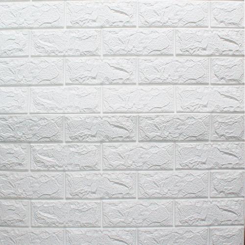 Placas Autoadhesivas Para Pared 70x77 Cm- Blanco