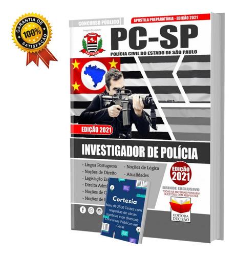 Apostila Investigador De Polícia Civil São Paulo Pc Sp 2021