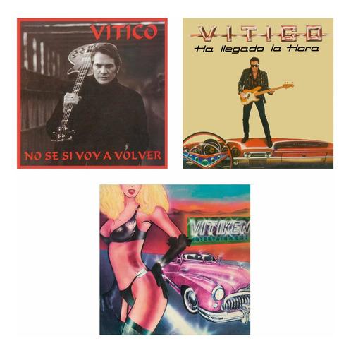 Vitico / Vitiken Pack 3 Cds Nuevos Edición 2021 Rgs