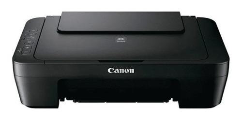 Impresora A Color Multifunción Canon Pixma Mg2510 Negra 127v