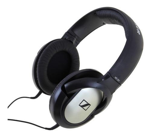Audífonos Sennheiser Hd 201 Black Y Silver