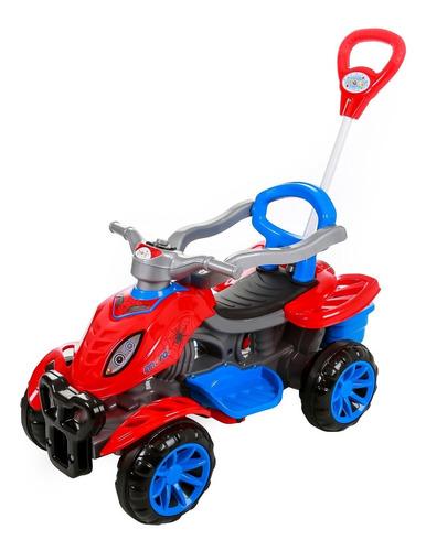 Carrinho De Passeio Infantil Empurrador Pedal Criança Spider