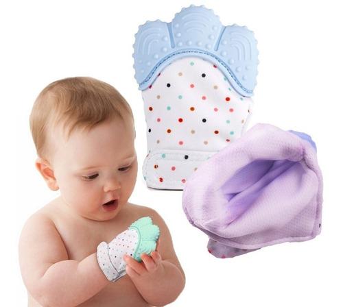 Luva Mordedor Luvinha Silicone Para Bebê Prontaentrega
