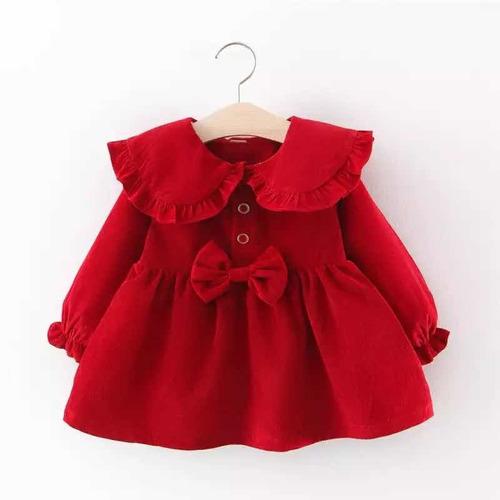 Vestido Bebê Encanto Lacinho