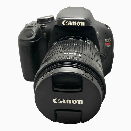 Câmera Canon T3i C Lente 18:55 Mm Seminova 29750 Cliques
