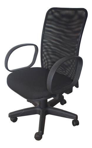 Cadeira Em Tela Braço Corsa Escritório Home Office