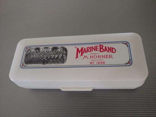 Armonica - A - Hohner Marine Band    Soporte De Regalo!!!