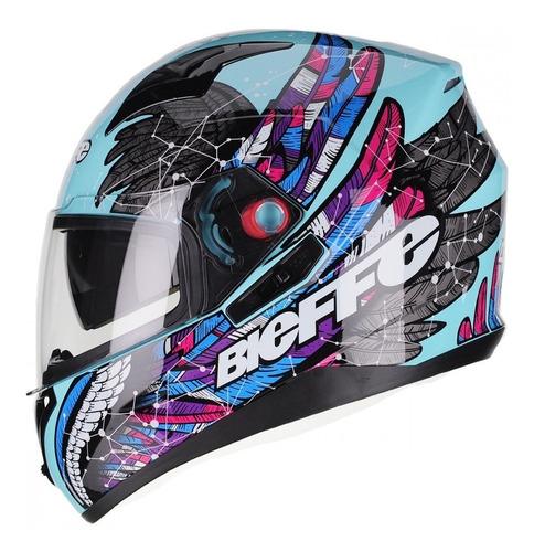 Capacete Motociclista Bieffe B40 Astro
