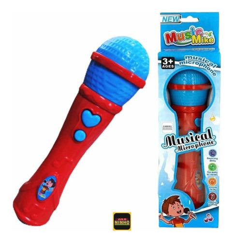 Presente Para Criança Menino Menina Microfone Sai A Voz Top