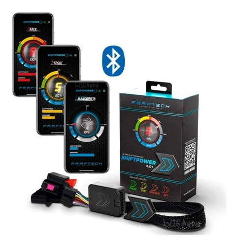 Modulo Acelerador Pedal Shiftpower Chip Bluetooth 4.0+ App