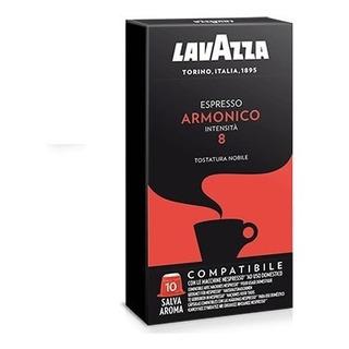 Café Lavazza Cápsulas Armónico X 10 Compatibles Nesspreso