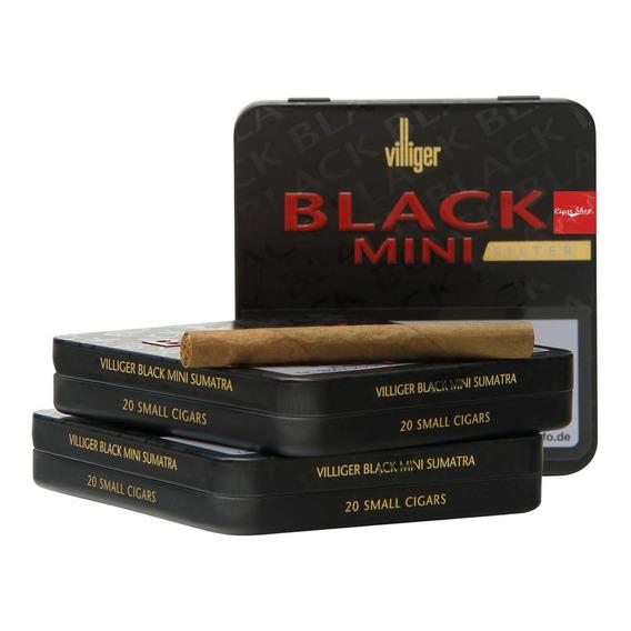 Cigarro Villiger Mini Black X 20 Unid. Cigar Shop