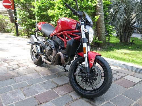 Ducati Monster 821 Impecable Con Accesorios. Única!
