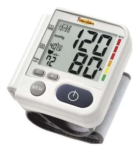 Aparato Medidor Presion Arterial  Y Ritmo Cardiaco