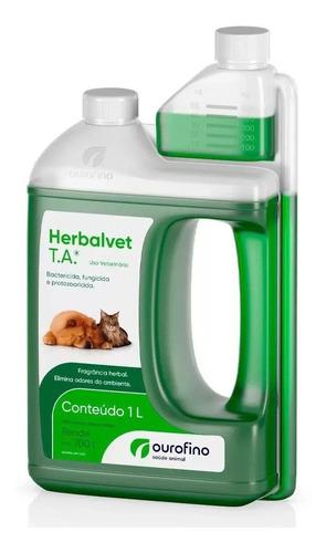 Herbalvet Desinfetante Bactericida Ourofino 1 Litro Full