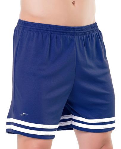 Shorts Calção De Futebol Academia Lazer Até Plus Size