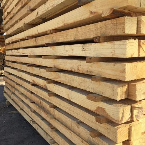 Tirante Puntal Pino Encofrado Construccion  Obras 3x3x2,45