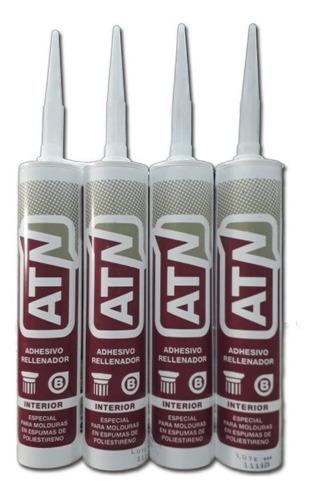 Adhesivo Para Molduras Cornisas En Cartucho 500gr