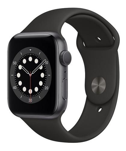 Apple Watch Serie 6 44mm Black Sport 1 Ano De Garantia.