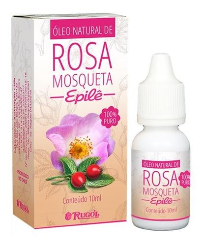 Óleo Natural Rosa Mosqueta Epilê 100% Puro 10ml Rugol