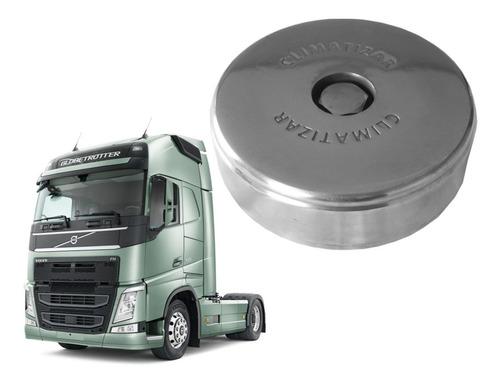 Kit Tampas Anti Vazamento Tanque Alumínio Volvo New Fh (par)