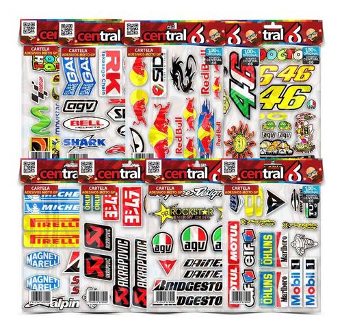 Cartela 146 Adesivos Resinados Fogão Ps3 Ps4 LG