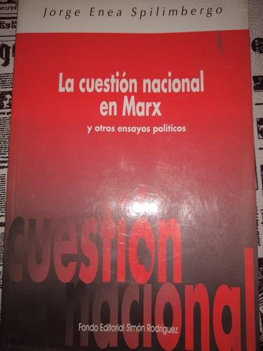 La Cuestión Nacional En Marx