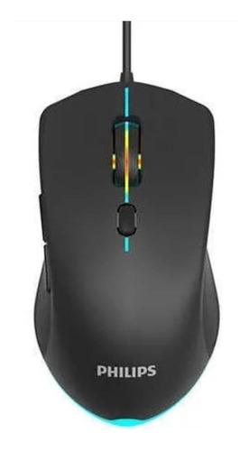 Mouse Para Jogo Philips  Momentum Spk9404 G404 Preto