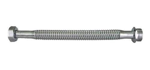 Flexible Cobre Macho Hembra 3/4  X 25 Cm Fxco3425 Aquaflex