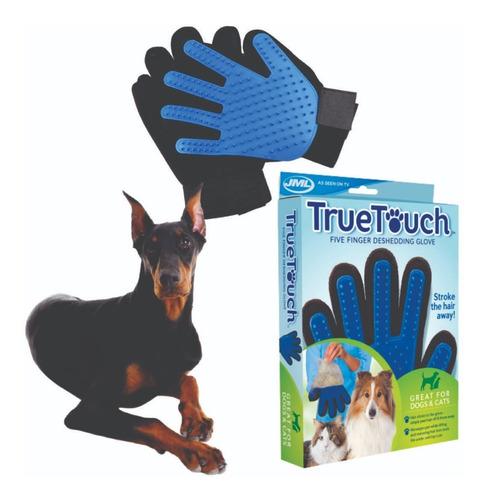 Escova Tira Pelos Cães Gatos E Outros Animais Luva Prática
