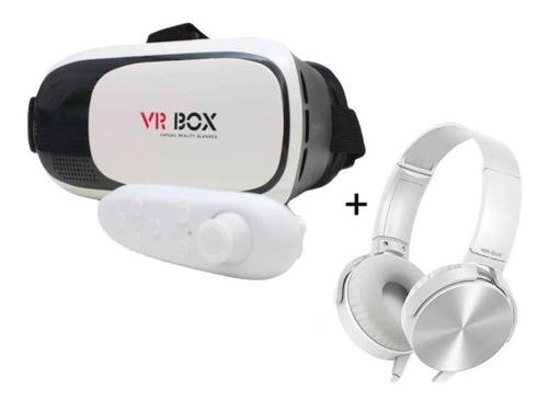 Oculos 3d Realidade Virtual Celular Video Filme  Jogos