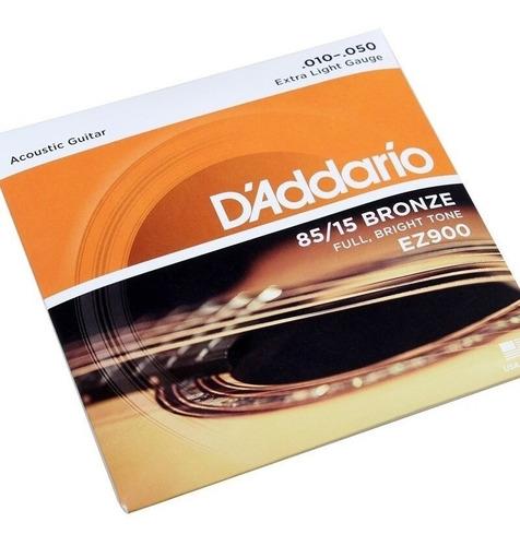 Cuerdas D´addario Ez900 Bronce Guitarra Acustica Dadario