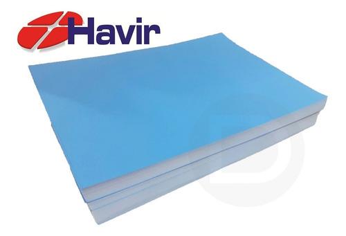 Papel Havir Sublimatico Fundo Azul A4 - 90g -250 Folhas