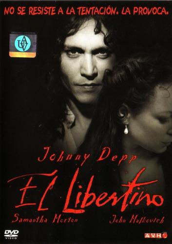 El Libertino ( Johnny Depp / John Malkovich ) Dvd Original