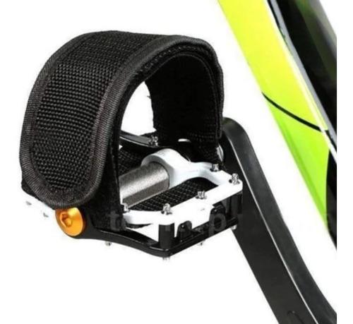 Firma Pé Correia/pedal/velcro Fixed Gear Preto