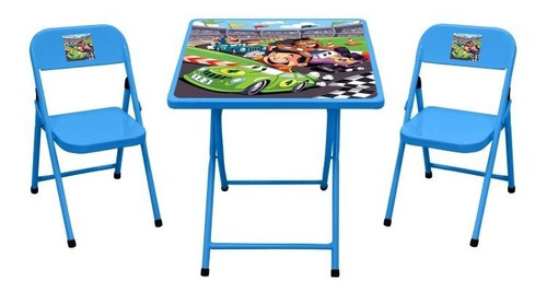 Conjunto Mesa Infantil Fantasia C/ 2 Cadeiras