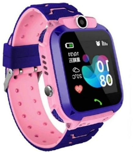 Relógio Com Gps Smartwatch Infantil Kids Câmera  E S.o.s