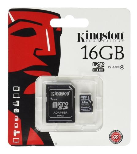 Cartões De Memória 16 Gb - Kingston,  S10 Sem Adaptador.
