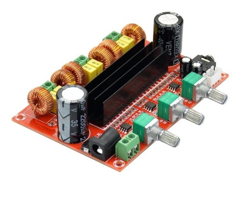 Modulo Amplificador De Sonido Clase D 2,1 Chanel