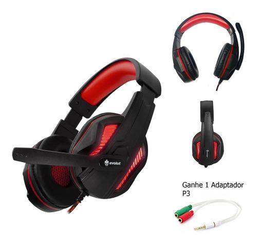 Headset Gamer Barato Thoth Evolut Pc - Celular - Ps4 - Xbox
