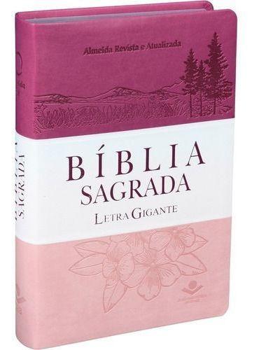 Bíblia Feminina Com Letra Gigante Com Índice Sbb | 14x21cm