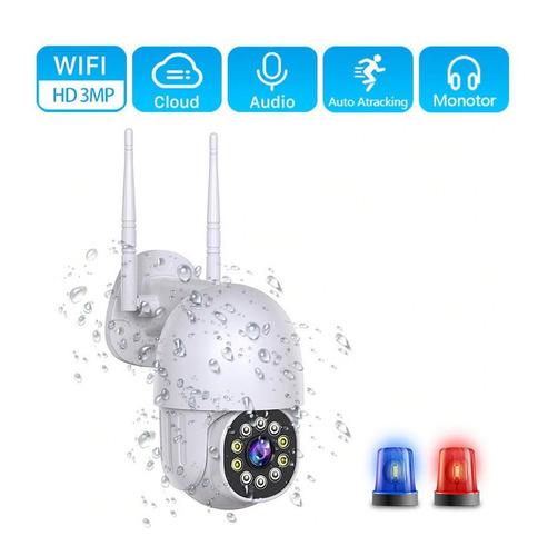Camara Ip De Seguridad Vigilancia Exterior 1080 Domo 360 Ptz