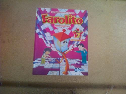 Farolito Pre Matematica 2 Editorial Coliseo No Entregas Pers