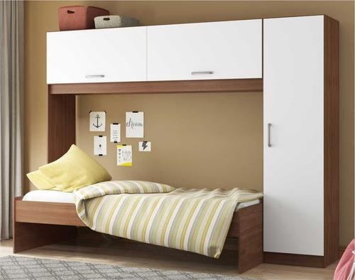 Guarda-roupa/roupeiro Multimóveis C/cama Para Colchão