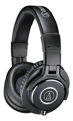Audífonos Audio-technica M-series Ath-m40x Negro