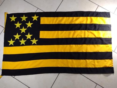 Bandera De Peñarol En Tela De Buena Calidad, No China
