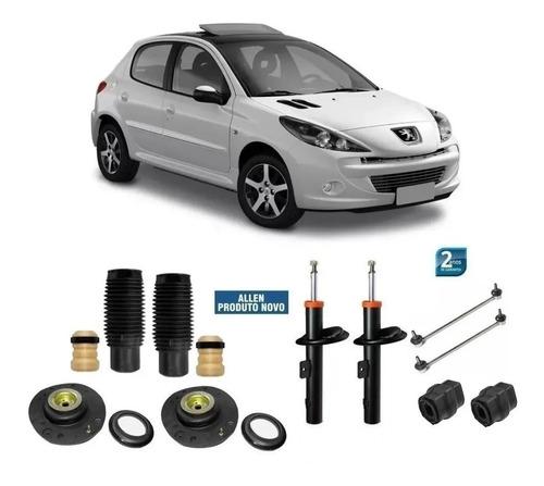 Par Amortecedor Dianteiro Peugeot 206 207 1.4 1.6 + Kit